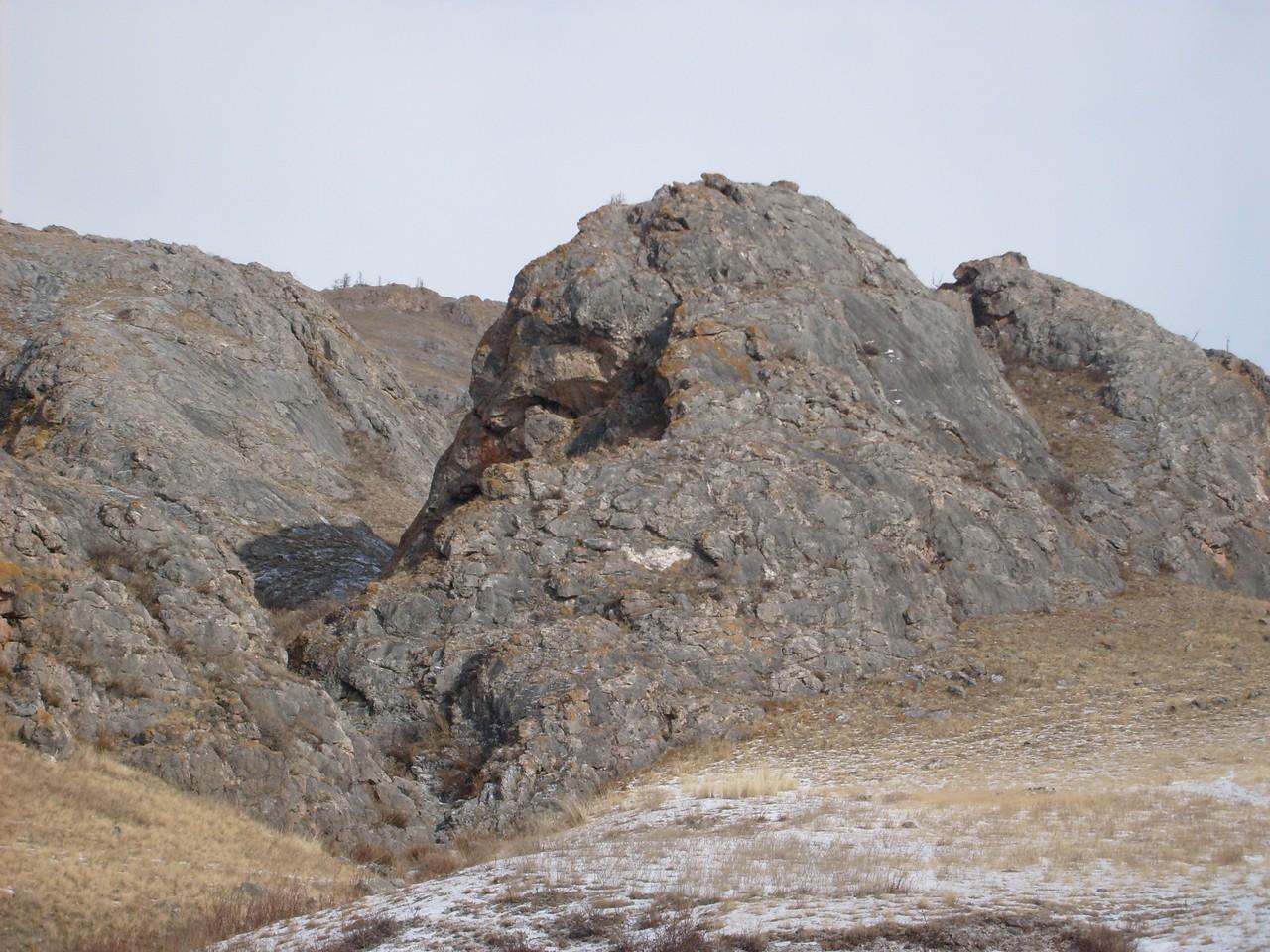 Вид горы